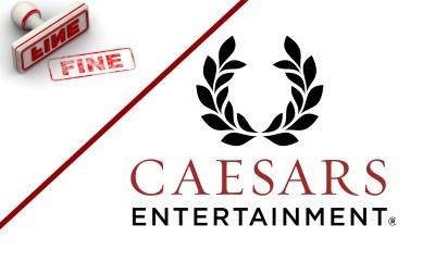 Indiana slaps fine Caesars Entertainment