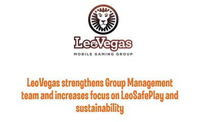 LeoVegas strengthens Group Management team and increases focus on LeoSafePlay and sustainability