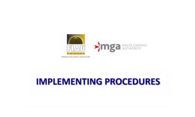 MGA | FIAU issues the Implementing Procedures - Part II addressed to the Remote Gaming Sector