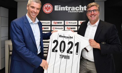 Tipwin and Eintracht confirm partnership agreement until 2021