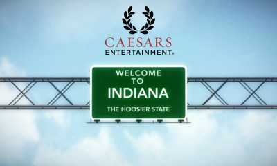Caesars' entry boosts sports betting in Indiana