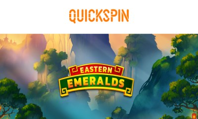 Quickspin introduces its highest-ever multiplier with launch of Eastern Emeralds