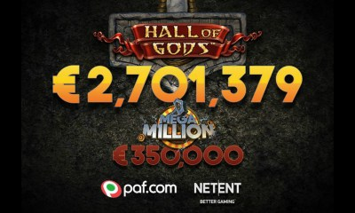NetEnt games make another millionaire for the third time this month