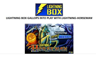 Lightning Box Gallops Into Play With Lightning-Horseman