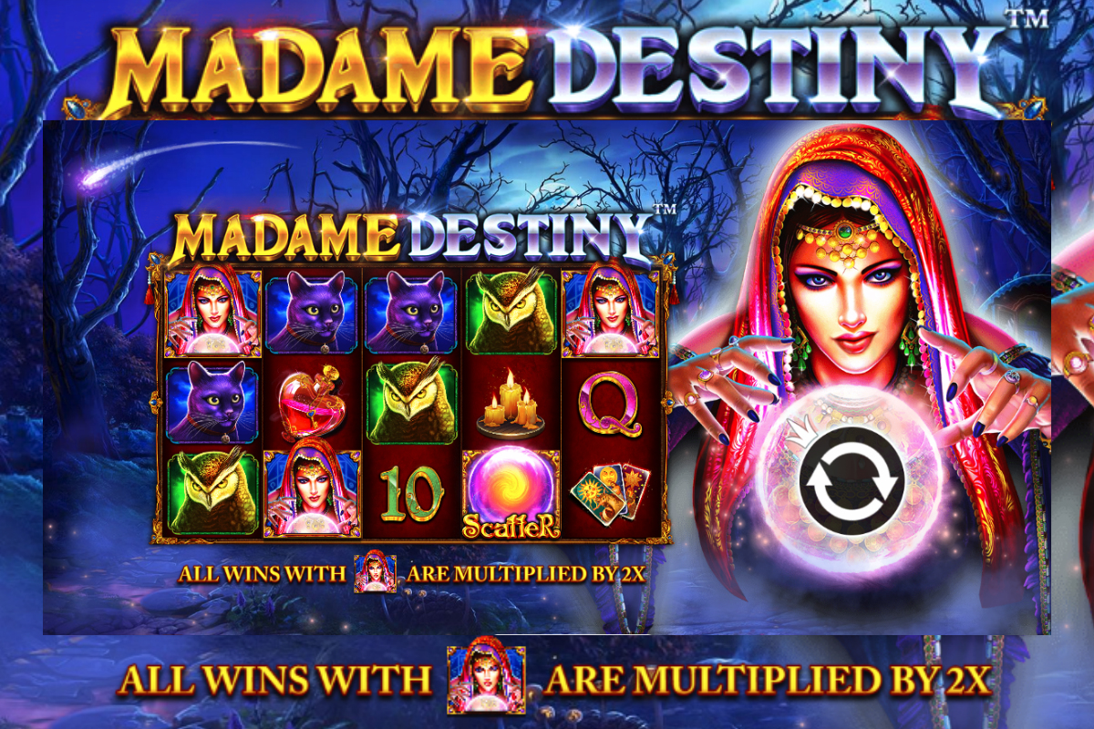 Peer Into The Future With Pragmatic Play's Madame Destiny