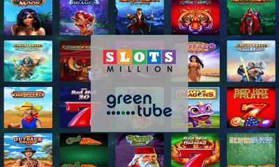SlotsMillion adds leading content from Greentube