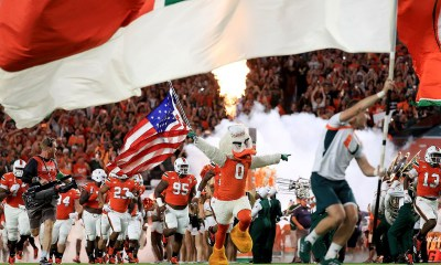 Gamblers back Miami Hurricanes against LSU Tigers
