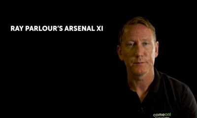 Ray Parlour picks his all-time Arsenal XI from his time at the club