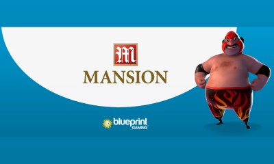 Mansion goes live with Blueprint Gaming content