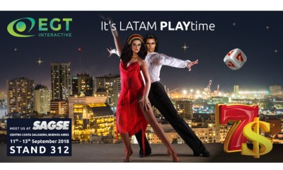 EGT Interactive continuous to fascinate the Latin America amusement market