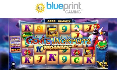 Blueprint Gaming grants more wishes with Genie Jackpots MegaWays™