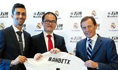 ManBetX signs deal with Real Madrid