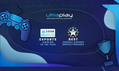 UltraPlay received the best eSports supplier of the year from two industry's Awards