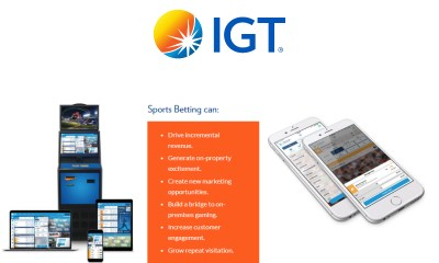 IGT Provides Online and Mobile Sports Betting Platform for FanDuel in New Jersey