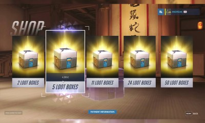 No more in-game loot boxes in Belgium