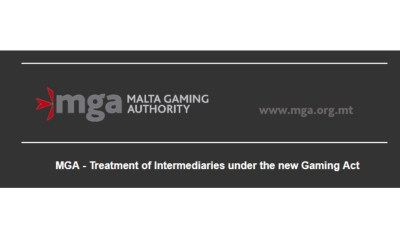 MGA - Treatment of Intermediaries under the new Gaming Act