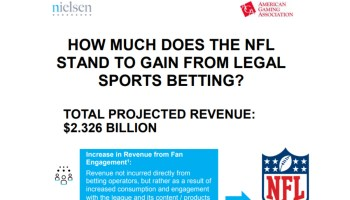 AGA Hosts Press Call to Release New NFL Sports Betting Data