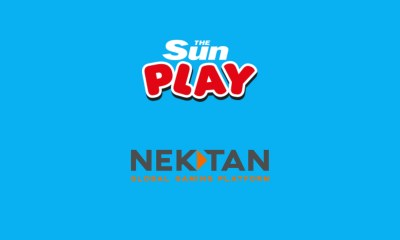 News UK's The Sun Play slots site hails Nektan partnership with a 47% rise in gaming revenues
