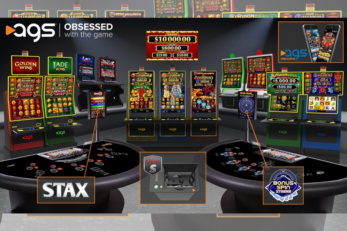 AGS Awarded Pennsylvania Slot Machine, Table Games Manufacturer License