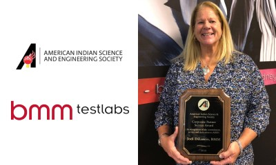 BMM's Director Tribal Gaming, Jodi DiLascio Awarded the 2018 AISES Corporate Partner Service Award