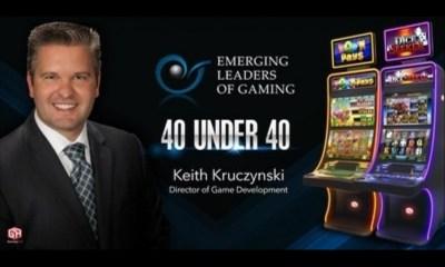 "Gaming Arts' Keith Kruczynski Named to Emerging Leaders of Gaming ""ELG 40 Under 40"""