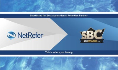 "NetRefer Shortlisted For An SBC Award ""Best Acquisition And Retention Partner"""