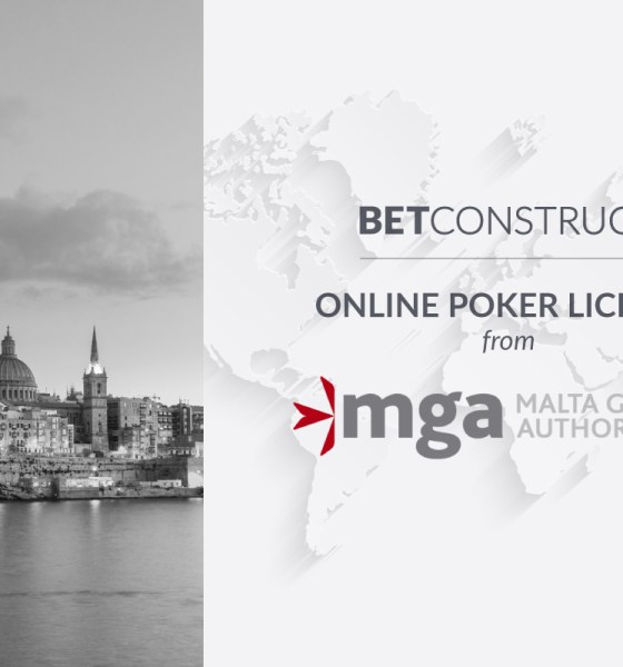 BetConstruct has enabled Poker vertical under its MGA licence