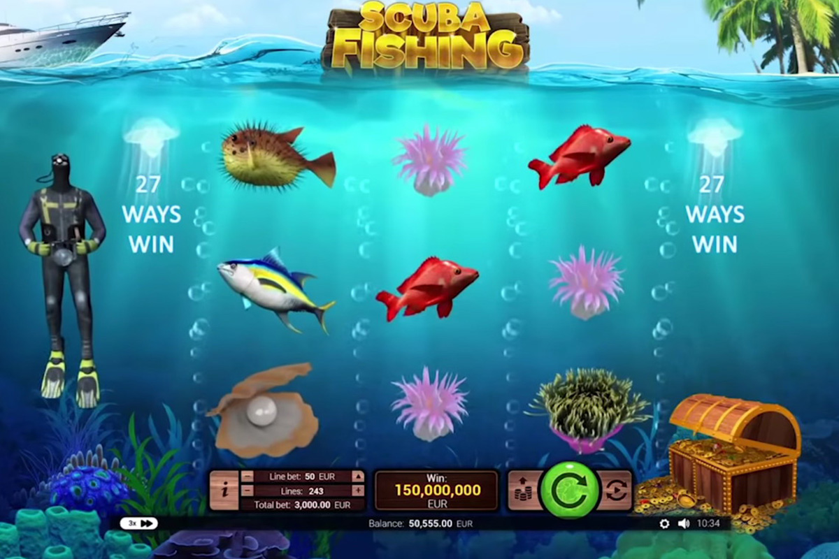 RTG Asia launched Scuba Diver game