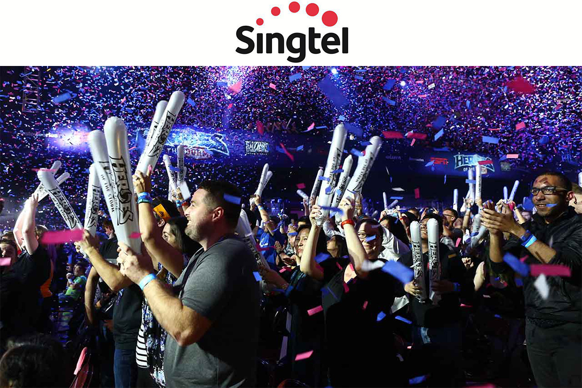 Singtel Group pushes ahead on gaming and esports