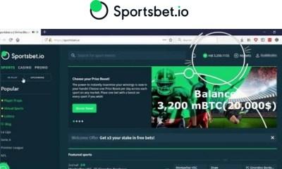 Sportsbet.io pays out 3.2BTC windfall on Live Casino