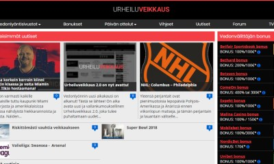 Raketech launches Urheiluveikkaus.com as its flagship sports betting product for Finland
