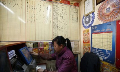 China witnesses rise in lottery sales in September