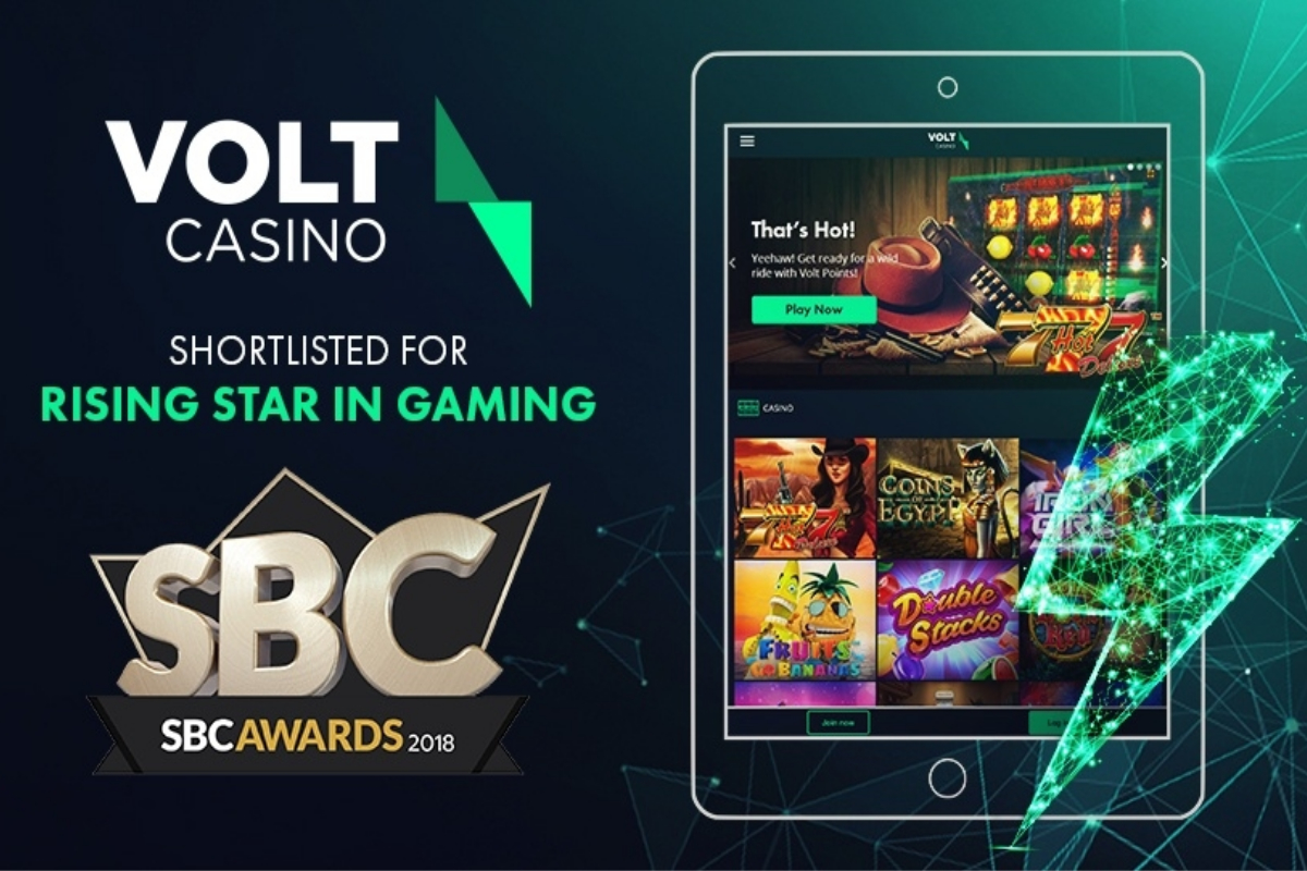 Volt Casino shortlisted for SBC Award