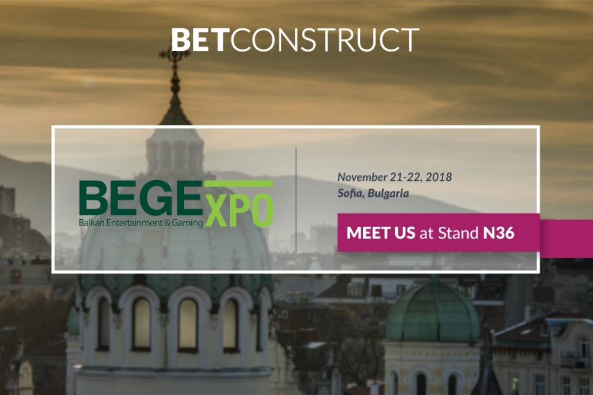 BetConstruct to present its solutions for east European region at BEGE 2018