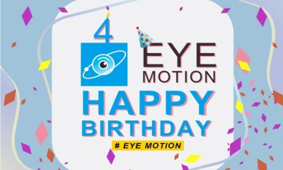 Eye Motion 4th Anniversary