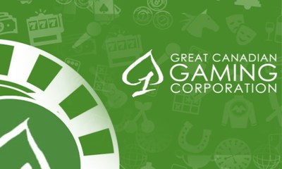 Great Canadian Gaming reports revenue growth