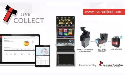 ITL's Live Collect - maximising the operational efficiency of gaming machines