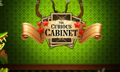 Iron Dog Studio launches The Curious Cabinet slot