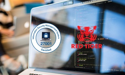 Red Tiger Gaming awarded ISO certification
