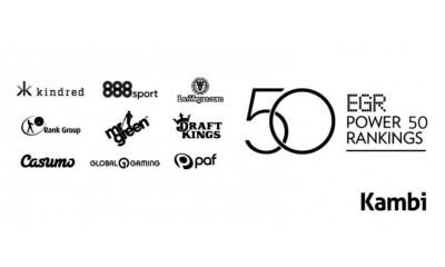 Nine Kambi-powered operators in Power 50 list