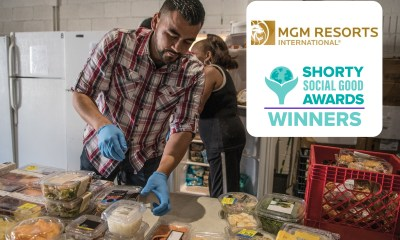 "MGM Resorts Wins Shorty Social Good Award For ""Spotlight On Hunger"" Campaign"