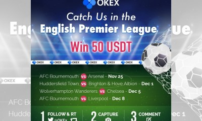 OKEx Takes Centre Stage in the English Premier League
