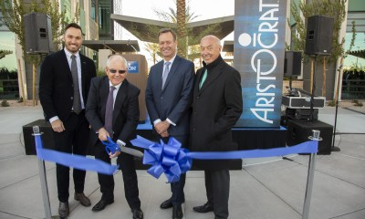 Aristocrat Cuts Ribbon at new Two-building Campus in Summerlin, Renewing Company's Dedication to Las Vegas and Marking the Beginning of a New Era