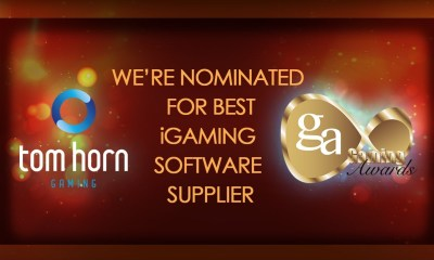 Tom Horn Gaming Nominated For International Gaming Awards