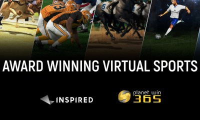 "planetwin365 expands the offer and launches Inspired's ""Virtual Sports"""
