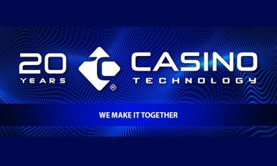 Casino Technology celebrates 20th Anniversary