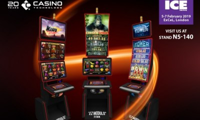 Casino Technology with premiere of new cutting-edge product offerings at London Exhibition