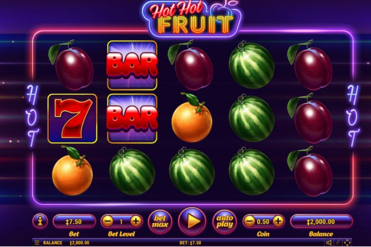 Habanero's Hot Hot Fruit slot