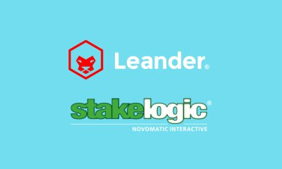 Leander Games and Stakelogic team up