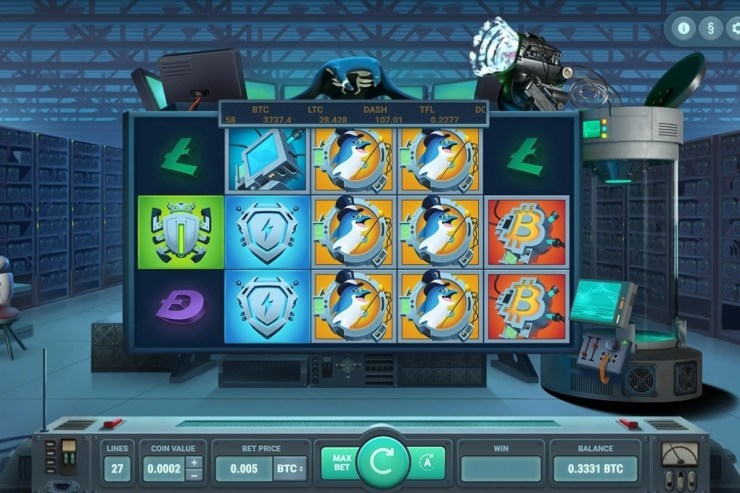 True Flip's Crypto-Themed Mining Factory slot